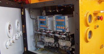 zdjęcie Flameproof transformer stations with ATEX